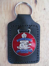 45023 ROYAL ENFIELD MOTORCYCLE LEATHER KEY FOB / KEYRING