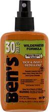 Ben's Wilderness 30% DEET Mosquito, Tick, and Insect Repellent, 3.4 Oz. Spray