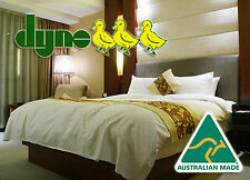 Dyne Exclusive King Quilt Doona - 90% Goose Down - Australian Made - 2BL CH