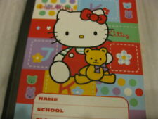 New Sanrio Hello Kitty School Note Book Stickers  1976 Vintage Rare LOOK!