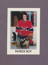 1987-88 OPC Hockey Mini Patrick Roy #36 Goalie 2nd Year Montreal Canadiens NM/MT