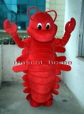 Professional New Style LANGOUSTE CRAWFISH Mascot Costume Fancy Dress