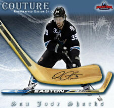 LOGAN COUTURE Signed Easton Wood Model Stick - San Jose Sharks