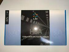 LSI 9300-8E LSI00343 8-Port OUT12GB/S SASPcle 3.0 8XHBA