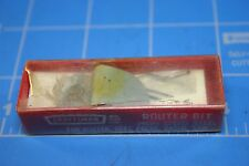 "NOS VINTAGE CRAFTSMAN 3/8"" COVE BIT FOR ROUTER, DRILL PRESS, RADIAL SAW"