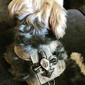 NEW LUXURY LEATHER DOG HARNESS - HANDMADE