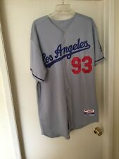 Andrew Lambo Dodgers Game Used Worn Jersey #93 Size 48