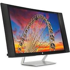 "HP 27C 27"" Curved Display Monitor FHD 1920x1080 8ms VGA, 2xHDMI *No Power Cable*"