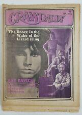 Crawdaddy Jan 1972 Jim Morrison Doors Lizard King Ray Davies Riders Purple Sage