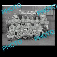 OLD FOOTBALL PHOTO,  1946 NORTH MELBOURNE FC PREMIERS