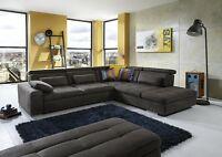 Loungesofa Sofagarnitur Sofa Couchgarnitur Couch Wohnlandschaft LOOK Megapol NEU