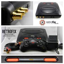 SEGA Mega Drive II Pack: Retrofix Classic - RCA Outputs, LED Change, Full Refurb