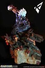 Street Fighter Diorama 1/6 Oni Akuma heo EU Exclusive 45 cm Kinetiquettes Statue