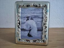 Wedding gift Handmade Sterling Silver Photo Picture Frame*954/13×18 GBnew