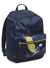 ZAINO INVICTA - RISE - Parrots Blu Patch - tasca porta pc padded - americano 28