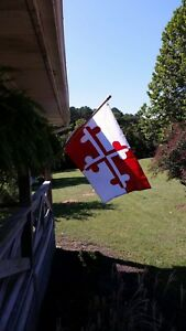 Historic Maryland Flags Maryland 3x5 ft Flag Crossland Banner