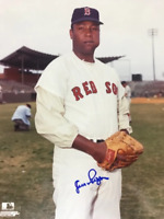 Juan Pizarro Autographed 8x10 Baseball Photo - Boston Red Sox