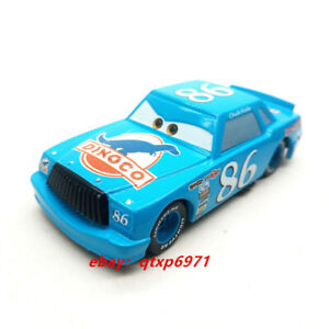 Disney Pixar Cars Dinoco Chick Hicks Blue #86 Metal 1:55 Diecast Loose New