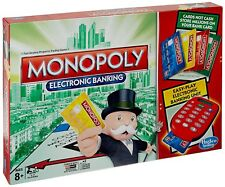 Board Game Monopoly Electronic Banking 2-4 Players Indoor Game Age 8+