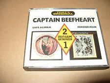 Captain Beefheart Safe As Milk/Mirror Man 2 CD album 16 tracks 1988 Ex Condition
