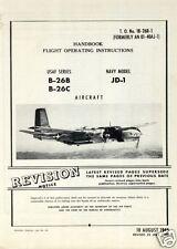 Douglas A-26 B C Invader 1940s WW2 archive rare details 2 manuals set historic