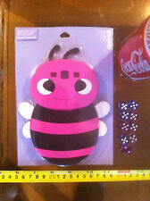 Claire's Claires Accessories Official Pink Bee Samsung Galaxy S3 Cover £8 RRP