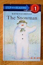 The Snowman Raymond Briggs  Book Step Into Reading Level 1 Teacher