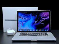 Apple MacBook Pro 15 inch Laptop | QUAD CORE i7 | 16GB RAM | MacOS | 1TB SSD!