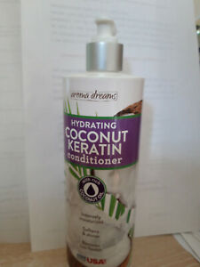 AROMA DREAMS Hydrating Coconut Keratin Conditioner 475ML(Rich with Cococnut Oil)