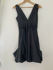 Ladies Formal Dress Traffie People S/8 Black Polyester <JS1208