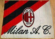 Bandiera AUTOGRAFATA stadio A.C. Milan 150x115 flag ultras collezione rossoneri