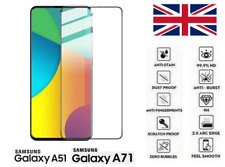 For Samsung Galaxy A71 A51 2020 Full 3D Tempered Glass 9H Screen Protector Cover