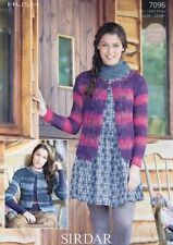 Sirdar Lace Sweaters/Clothes Crocheting & Knitting Patterns
