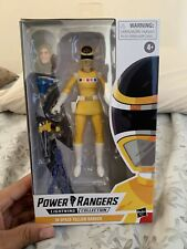Power Rangers In Space Yellow Ranger Lightning Collection In Hand