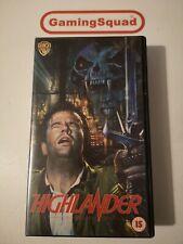 Highlander (Alt) VHS Retro Video, Supplied by Gaming Squad