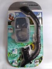 Head Tarpon 2/ Barracuda Dry Adult Silicone Combo Goggles & Snorkel
