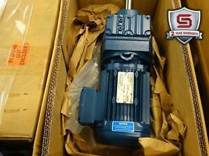 Sew-Eurodrive R47DRE80M4 Gearmotor 1HP, 52.69 Ratio, 230/460V, 2.90/1.44A (New)