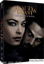 BEAUTY & THE BEAST 1-4 (2012-2016): COMPLETE TV Season Series -  NEW DVD R1