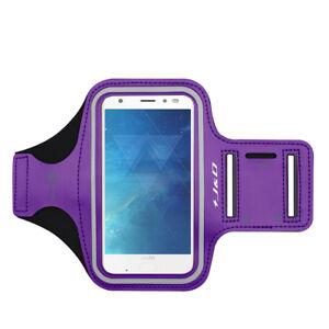 J&D Motorola Moto Z2 Force Sport Armband with Keyholder Slot/Earphone Connection