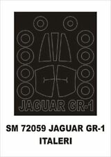 Montex Mini Mask 1:72 Jaguar GR-1 for Italeri Kit Spraying Stencil #SM72059
