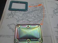 ROVER P6 2000/2200 culata TRASERO PLACA CIEGA & Junta Original