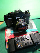 Contax RTS mit Yashica lens 2,8/28mm+Data Back