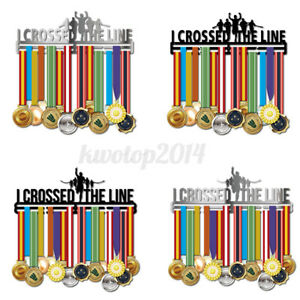 Stainless Steel 32 Medals Holder Sport Running Medal Hanger Display Rac
