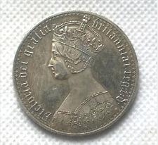 United Kingdom 1 Crown - Victoria COIN (1847 - 1853) British Money Collectible