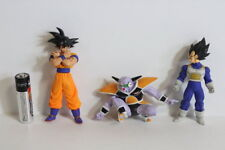 Lot of 3 Goku Vegeta Captain Ginyu Dragon Ball Z Gashapon Figure HG Japan Import