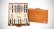 James Bond Swatch Watch Leather Briefcase - RARE - Only 280 Worldwide!