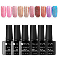 UR SUGAR 7.5ml Nagel Gellack Holographicss Glitter Soak Off Nail UV Gel Polish