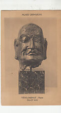 BF33560 tete d arhat pierre chine musee cernusch  painting  art front/back image