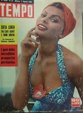 TEMPO N.31 1956 SOFIA LOREN