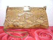 Pythontasche, IRV, Python Schlangenleder Tasche, Kroko,Phyton Snake Skin Bag